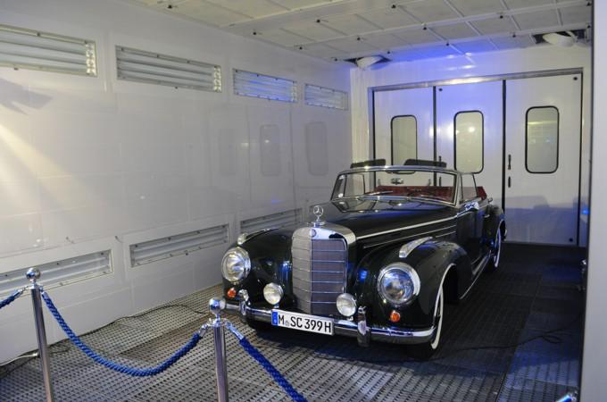 Lackieranlage SEHON Mercedes Oldtimer
