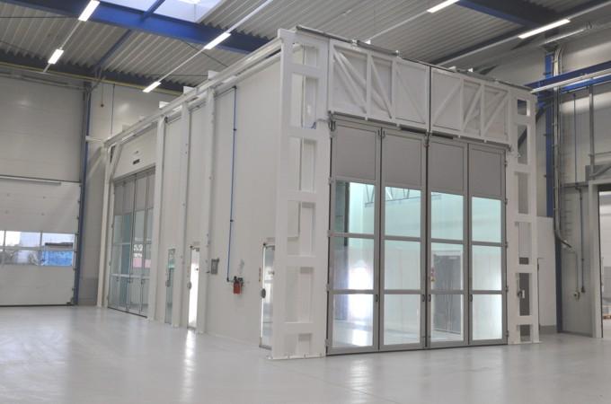 Industrie-Lackierkabinen für die Produktion, für Handwerk und Oberflächentechnik