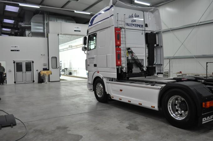 Lackierkabinen für LKW und andere Nutzfahrzeuge