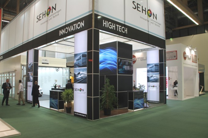 Messestand SEHON automechanika 2016