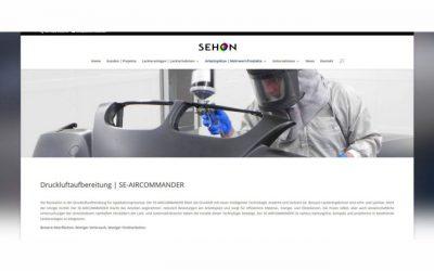 Neuer Internet-Auftritt von SEHON