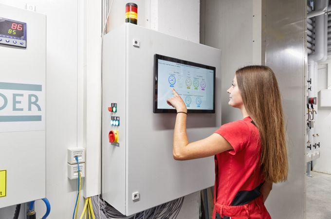 SEHON Energiemanagement-System mit angeschlossenem BHKW