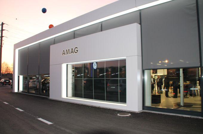 Empfang und Showroom AMAG Buchrain