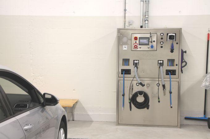 Versorgungsterminal für sicheres und effizientes Arbeiten.