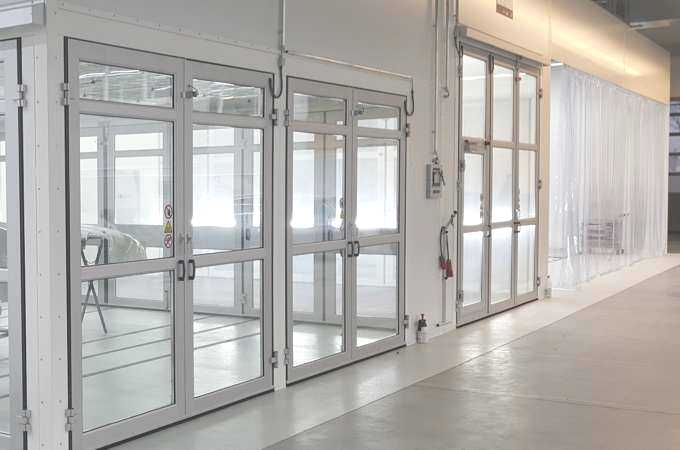 SEHON Hightech-Lackieranlagen bei hanseLack inklusive Wärmerückgewinnung Lackierkabine, Trockner, Vorbereitung