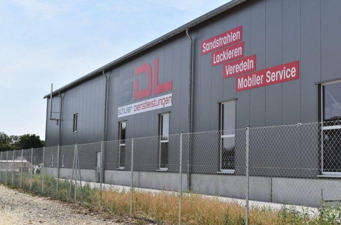 Firmengebäude SDL Schuler Dienstleistungen