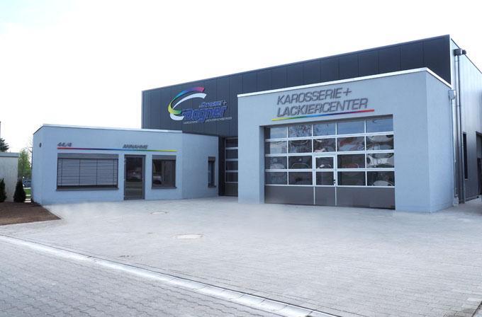 Gebäudeansicht Neubau Strasser + Bogner
