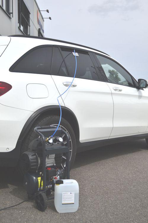 Fahrzeugdesinfektion einfach, schnell und kostengünstig