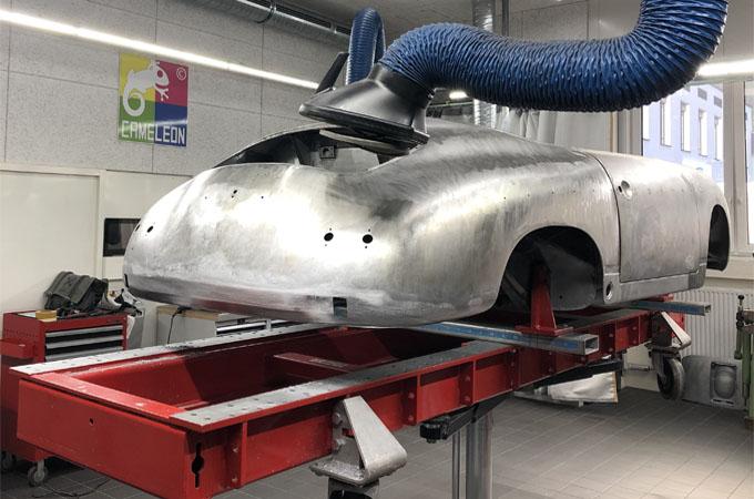 Karosseriearbeitsplatz für Stahl, Aluminium und Carbon - SEHON CAMELEON