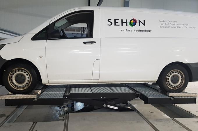 Powerlifter Hebebühne von SEHON Lackieranlagen